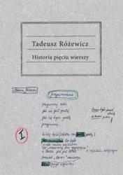 Historia pięciu wierszy Tadeusz Różewicz