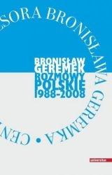 Rozmowy polskie 1988-2008 Bronisław Geremek