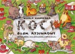 Koci blok rysunkowy Nikola Kucharska