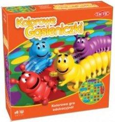 Kolorowe gąsieniczki Kolorowa gra edukacyjna