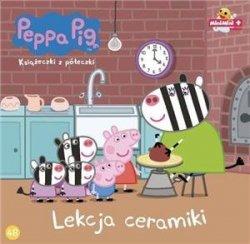 Świnka Peppa Książeczki z półeczki Tom 48 Lekcja ceramiki
