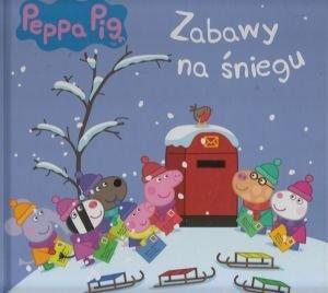 Świnka Peppa Zabawy na śniegu Wizyta Mikołaja