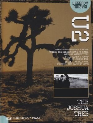 U2 The Joshua Tree Legendy Muzyki książka + film