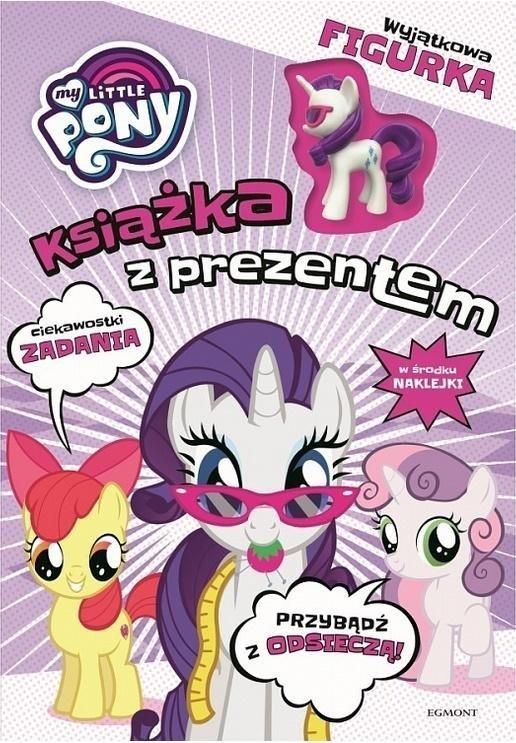 My Little Pony Książka z prezentem Rarity