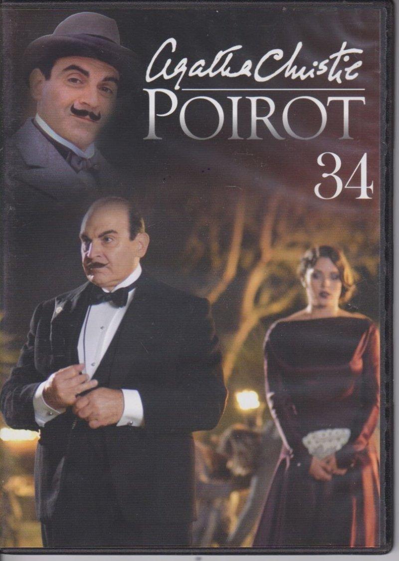 Agatha Christie Poirot cz. 34 Śmierć na Nilu DVD