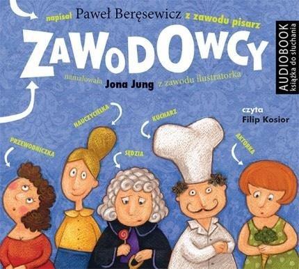 Zawodowcy Paweł Beręsewicz Audiobook mp3 CD