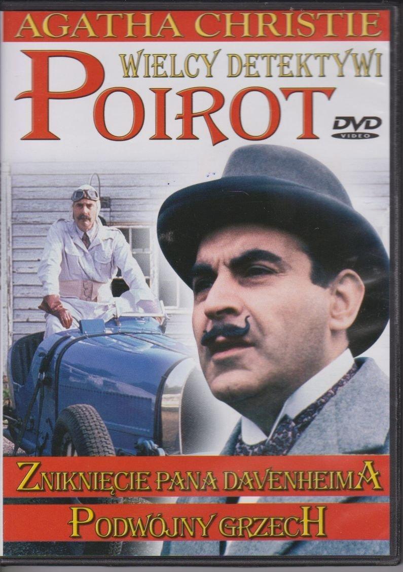 Poirot Wielcy detektywi Agatha Christie cz. 10 Znignięcie Pana Davenheima, Podwójny grzech DVD