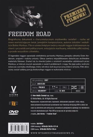 Bob Marley Freedom Road książka + film