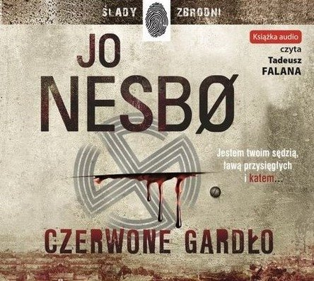 Czerwone gardło Jo Nesbo Audiobook mp3 CD