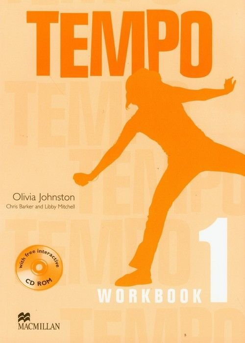Tempo Workbook 1 + CD Olivia Johnston Chris Baker Libby Mitchell