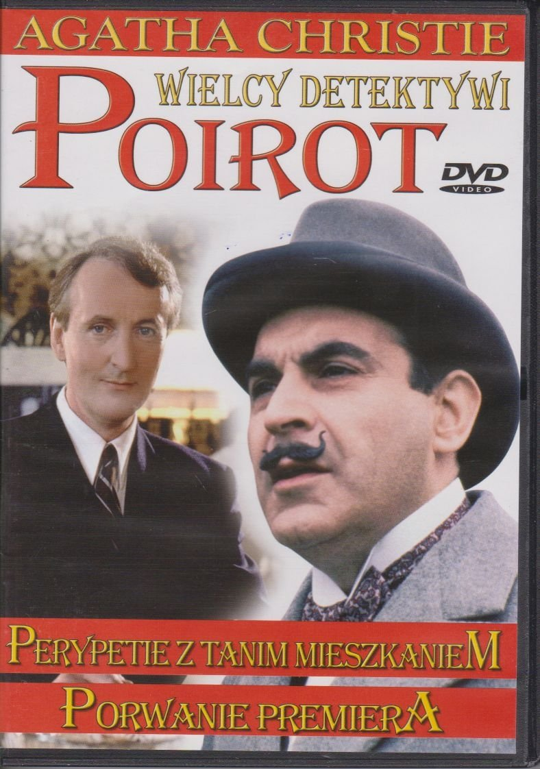 Poirot Wielcy detektywi Agatha Christie cz.11 Perypetie z tanim mieszkaniem, Porwanie premiera DVD