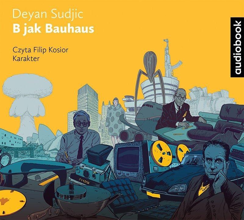 B jak Bauhaus Deyan Sudjic Audiobook mp3 CD