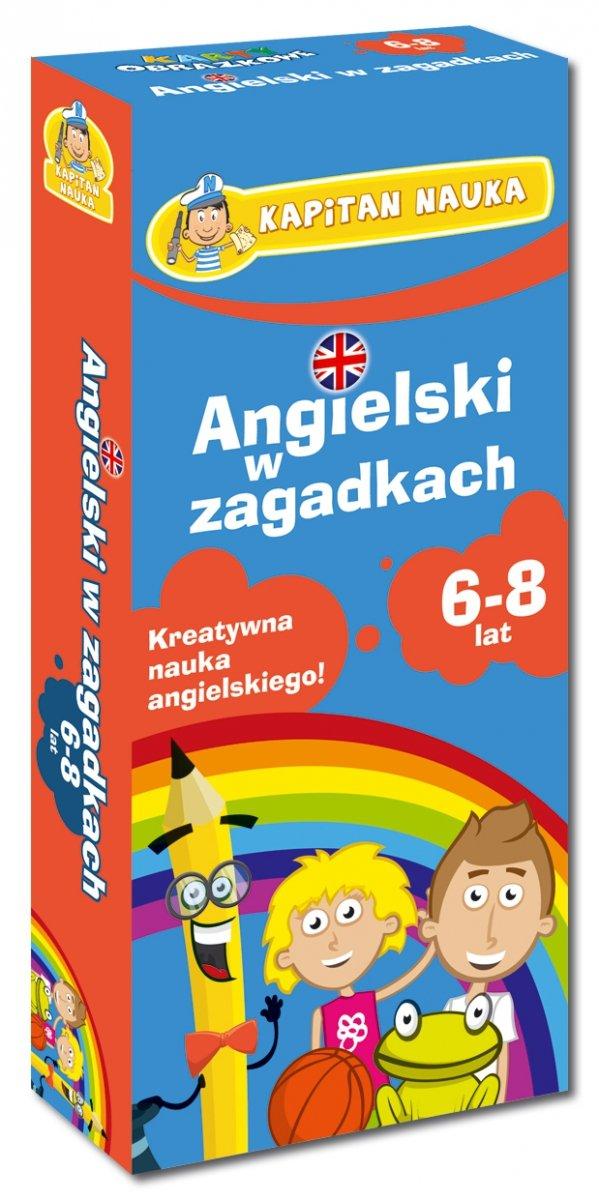 Angielski w zagadkach 6-8 lat Kreatywna nauka angielskiego