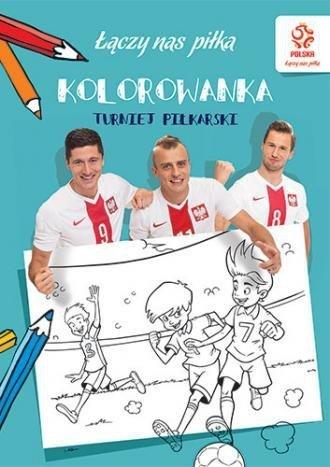 Piłka nożna Turniej piłkarski Kolorowanka