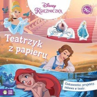 Teatrzyk z papieru Księżniczki Disney