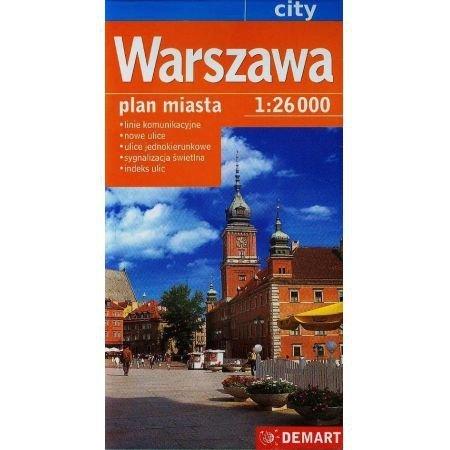 Warszawa plan miasta 1:26000