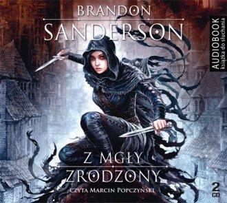 Z mgły zrodzony Brandon Sanderson Audiobook mp3 CD