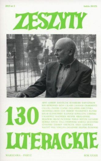 Zeszyty literackie 130