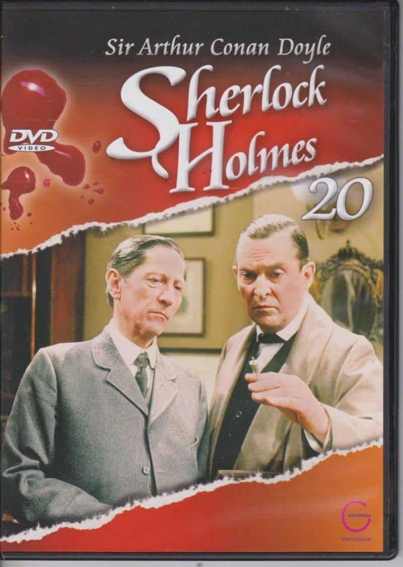 Sherlock Holmes Sir Arthur Conan Doyle cz. 20 Przypadek szalonego profesora DVD