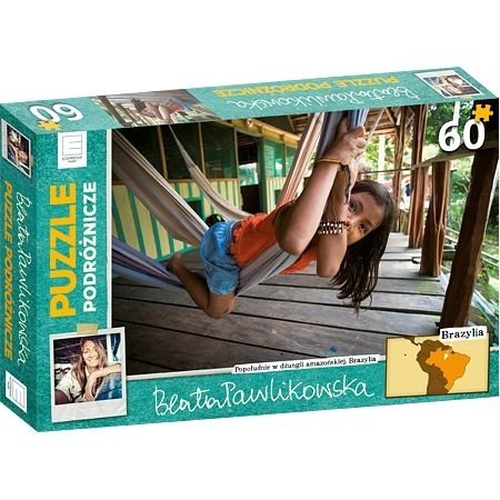 Puzzle podróżnicze Brazylia Beata Pawlikowska