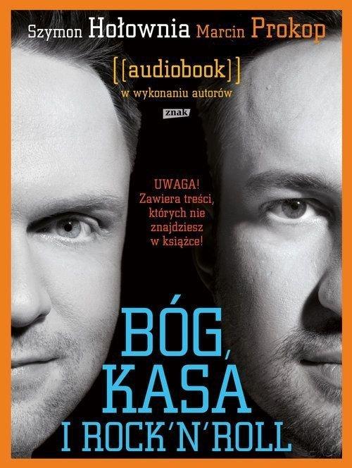 Bóg kasa i rock'n'roll Szymon Hołownia Marcin Prokop Audiobook CD Mp3