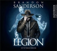 Legion Brandon Sanderson Audiobook mp3 CD