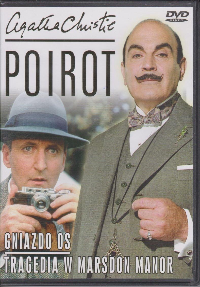 Poirot Agatha Christie cz. 14 Gniazdo os, Tragedia w Marsdon Manor DVD