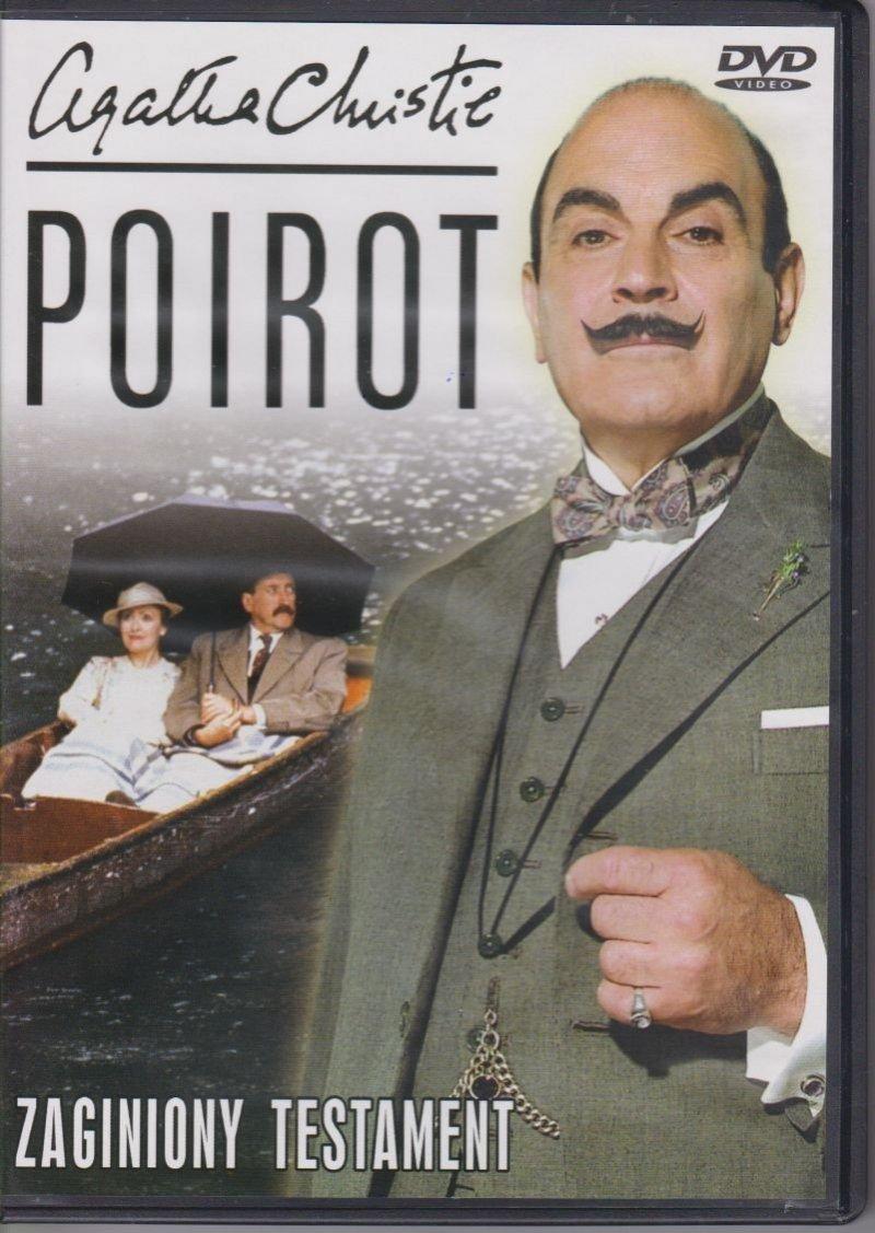 Poirot Agatha Christie cz. 26 Zaginiony testament DVD