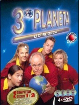 3 planeta od Słońca sezon 1 i 2 film DVD