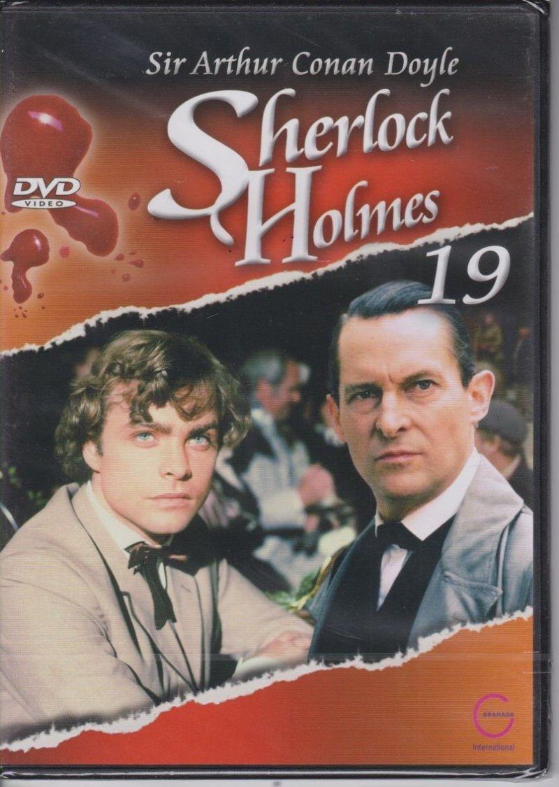 Sherlock Holmes Sir Arthur Conan Doyle cz. 19 Szlachetnie urodzony kawaler DVD