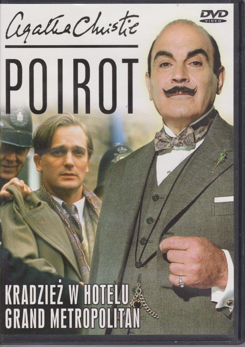 Poirot Agatha Christie cz. 32 Kradzież w hotelu, Grand Metropolitan DVD
