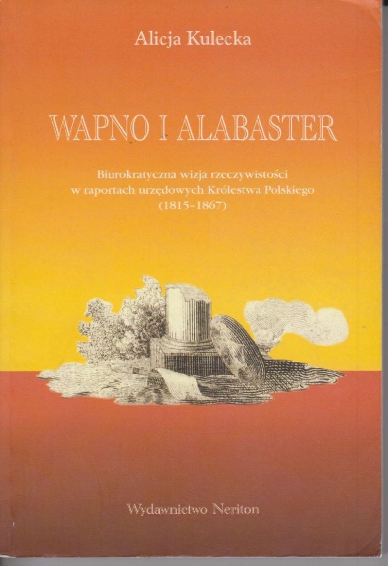 Wapno i alabaster Alicja Kulecka