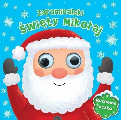 Zapominalski Święty Mikołaj Ruchome oczka