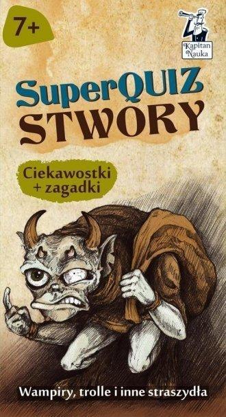 Kapitan Nauka SuperQuiz Stwory Paulina Kaniewska
