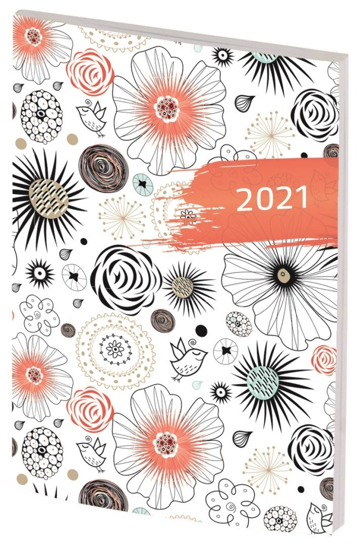 Kalendarz kieszonkowy A7 2021 (okładka losowa)