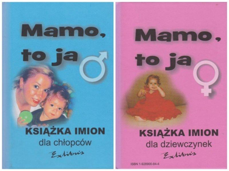 Mamo to ja Książka imion dla chłopców Książka imion dla dziewczynek