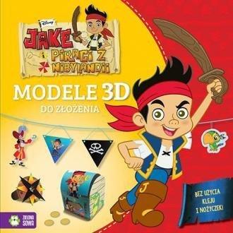 Jake i piraci z Nibylandii Modele 3D do złożenia