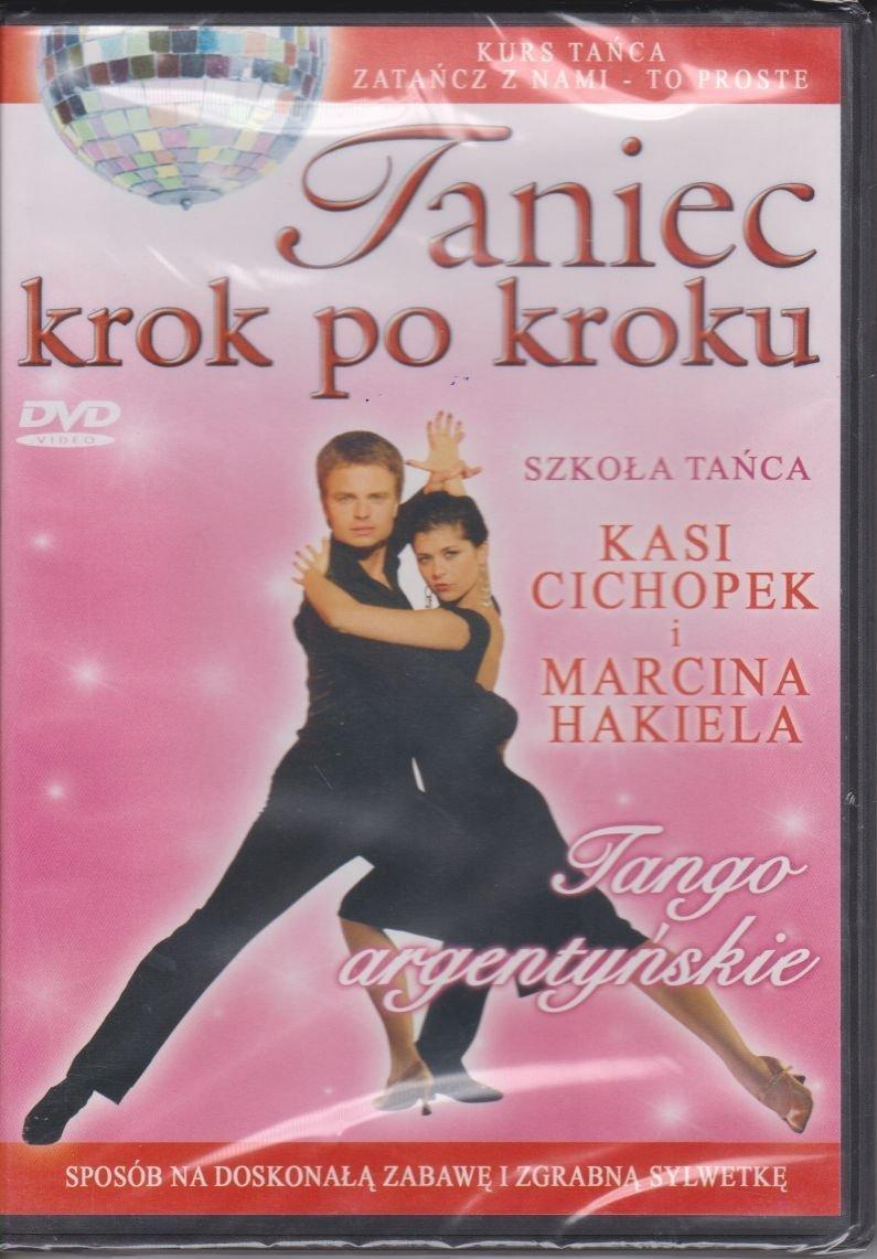 Taniec krok po kroku Tango Argentyńskie Szkoła tańca Kasi Cichopek i Marcina Hakiela DVD
