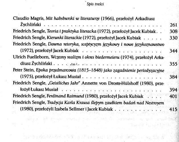 Spory o Biedermeier Jacek Kubiak