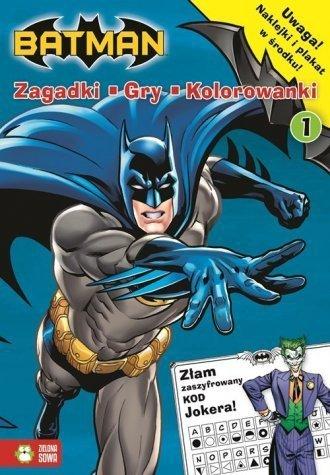 Batman. Zadania, gry, naklejki 1