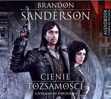Cienie tożsamości Brandon Sanderson Audiobook mp3 CD