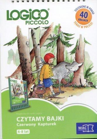 Logico Piccolo 6-8 lat Czytamy bajki Czerwony Kapturek Książeczka do ramki Logico
