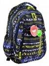 Coolpack Plecak Młodzieżowy Strike Tie Dye Blue Ultra Lekki