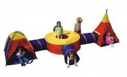 Namiot Dziecięcy z Igloo Łącznikiem Tunelem i Wigwamem 8905