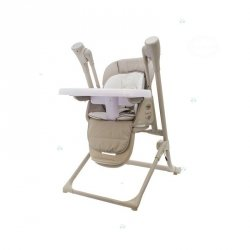 Krzesełko do Karmienia Ty868 Beżowy #D1