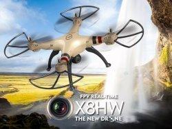 Dron Rc Syma X8hw 2,4ghz Kamera Fpv Wi-Fi #E1
