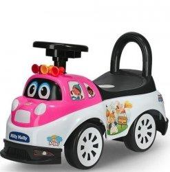Jeździk Pojazd Tipi Angel Biało Różowy #B1