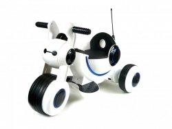 trójkołowy Jeździk na Akumulator Biały Dźwięk Światła