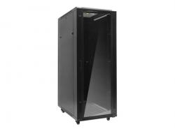 NETRACK 019-420-66-011-Z Netrack szafa serwerowa RACK 19 42U/600x600mm, ZŁOŻONA, drzwi szklane, szara