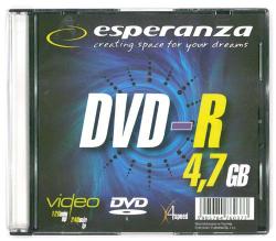 ESPERANZA 4.7 GB 16x Slim 1  szt.